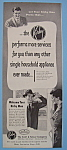 Click here to enlarge image and see more about item 12371: Vintage Ad: 1955 Kirby Man