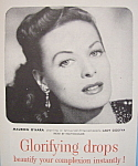 Click here to enlarge image and see more about item 12376: Vintage Ad: 1955 Westmore Tru-Glo Makeup w/M. O'Hara