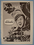 Click here to enlarge image and see more about item 12381: Vintage Ad: 1946 Schaefer