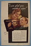 Click here to enlarge image and see more about item 12402: Vintage Ad: 1932 Granger Rough Cut Pipe Tobacco