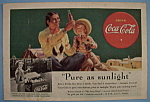 1938 Coca-Cola (Coke) with Indian Man & Little Boy
