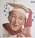 Click to view larger image of Vintage Ad: 1947 General Electric Radio w/Kay Kyser (Image1)