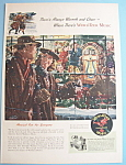 Click here to enlarge image and see more about item 12431: Vintage Ad: 1947 Wurlitzer Music Phonograph