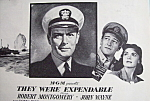 Vintage Ad: 1945 They Were Expandable w/ John Wayne