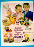 Click to view larger image of 1964 Brach's Easter Candy with Boy & Girl (Image2)