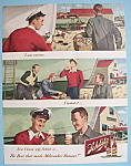 1949 Schlitz Beer with Man Fixing Up his Boat