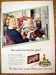 Vintage Ad: 1948 Schlitz Beer