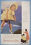 Click here to enlarge image and see more about item 12482: Vintage Ad: 1941 Kodachrome Film