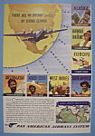 Vintage Ad: 1941 Pan American Airways System