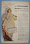1942 General Electric Automatic Blanket w/Woman