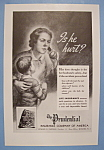 Click here to enlarge image and see more about item 12503: Vintage Ad: 1937 The Prudential Insurance Company