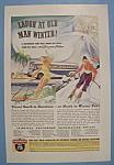 Click here to enlarge image and see more about item 12513: Vintage Ad: 1938 Greyhound Lines