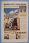 Click here to enlarge image and see more about item 12522: Vintage Ad: 1939 General Tires
