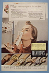 Click here to enlarge image and see more about item 12530: Vintage Ad: 1940 Hamilton Watch