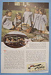 Click here to enlarge image and see more about item 12532: Vintage Ad: 1940 Body By Fisher w/ Dionne Quintuplets