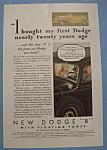 Vintage Ad: 1933 Dodge 8