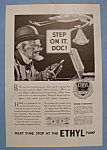 Click here to enlarge image and see more about item 12547: Vintage Ad: 1933 Ethyl Gasoline