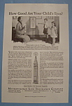 1936 Metropolitan Life Insurance Company w/Mom & Kids