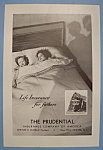 Click here to enlarge image and see more about item 12566: Vintage Ad: 1936 Prudential Insurance Company