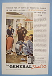 Click here to enlarge image and see more about item 12576: Vintage Ad: 1937 General Dual 10 Tires