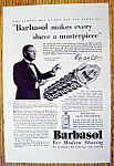 Click to view larger image of Vintage Ad: 1930 Barbasol with Vincent Lopez (Image1)