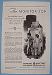 Click here to enlarge image and see more about item 12599: Vintage Ad: 1930 G E All - Steel Refrigerator