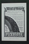 1916 Firestone Non-Skid Tires with Tire's Treads