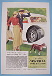 1933 General Dual Balloon Tires with Woman Driving