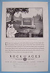 Click here to enlarge image and see more about item 12630: Vintage Ad: 1930 Rock Of Ages Corporation