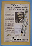 Click here to enlarge image and see more about item 12643: Vintage Ad: 1931 Parker Duofold Pen