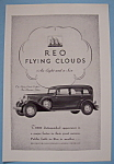 Vintage Ad: 1931 REO Flying Clouds