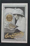 1916 Gold Medal Flour with Woman Looking at Book