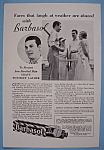 Vintage Ad: 1932 Barbasol