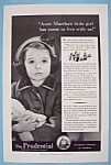 Click here to enlarge image and see more about item 12669: Vintage Ad: 1941 Prudential Insurance Company