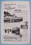 Click here to enlarge image and see more about item 12673: Vintage Ad: 1941 Canadian National