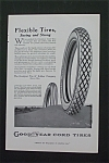 1916 Goodyear Cord Tires with a Tire