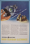 Click here to enlarge image and see more about item 12688: Vintage Ad: 1943 G E Radio-Television-Electronics