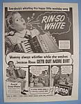 Vintage Ad: 1944 Rinso Detergent