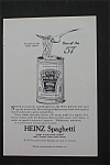 1916 Heinz Spaghetti with Spaghetti on a Fork