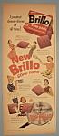 Vintage Ad: 1956 Brillo Soap Pads