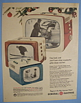Click here to enlarge image and see more about item 12742: Vintage Ad: 1956 General Electric Portables