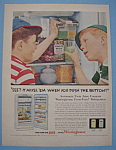 Vintage Ad: 1955 Westinghouse Frost Free Refrigerator