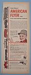 Vintage Ad: 1955 American Flyer