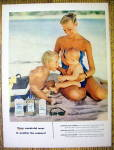 1955 Johnson's Baby Oil, Lotion & Powder w/Woman & Kids