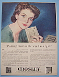 Click here to enlarge image and see more about item 12790: Vintage Ad: 1944 Crosley Corporation