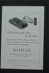 1916 Eastman Kodak Company with Hand Holding a Pencil