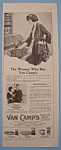 Vintage Ad: 1920 Van Camp's Pork And Beans