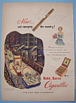 vintage Ad: 1950 Robt Burns Cigarillos