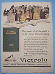 Click here to enlarge image and see more about item 12841: Vintage Ad: 1923 Victor Records