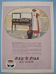 Click here to enlarge image and see more about item 12846: Vintage Ad: 1924 Red Star Oil Stove